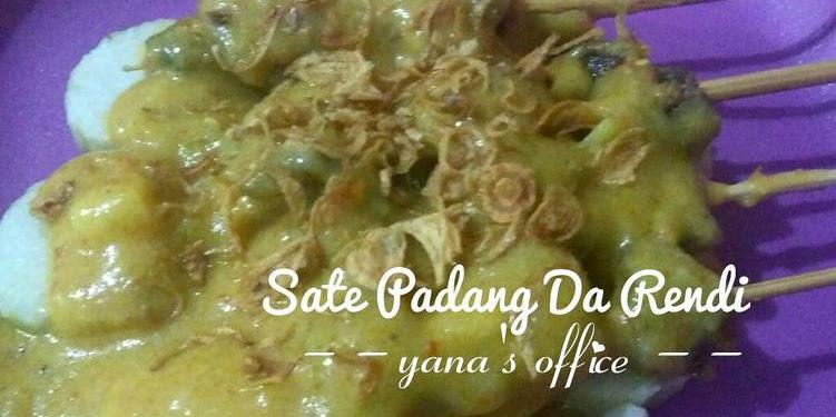 Resep Sate Padang Daging Uda Rendi (bahan Ditimbang) Oleh Yana's Office