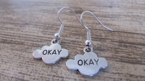 "TFiOS ""Okay"" Earrings"