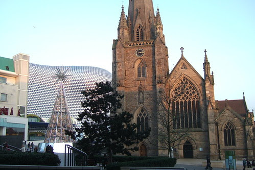 St Martin's Church in the Bullring