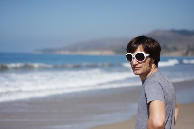 sam at beach