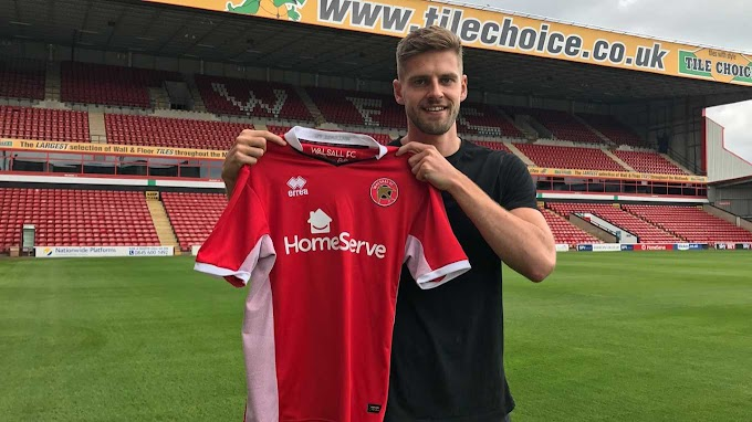 Jon Guthrie - Walsall Was the Best Fit For Me