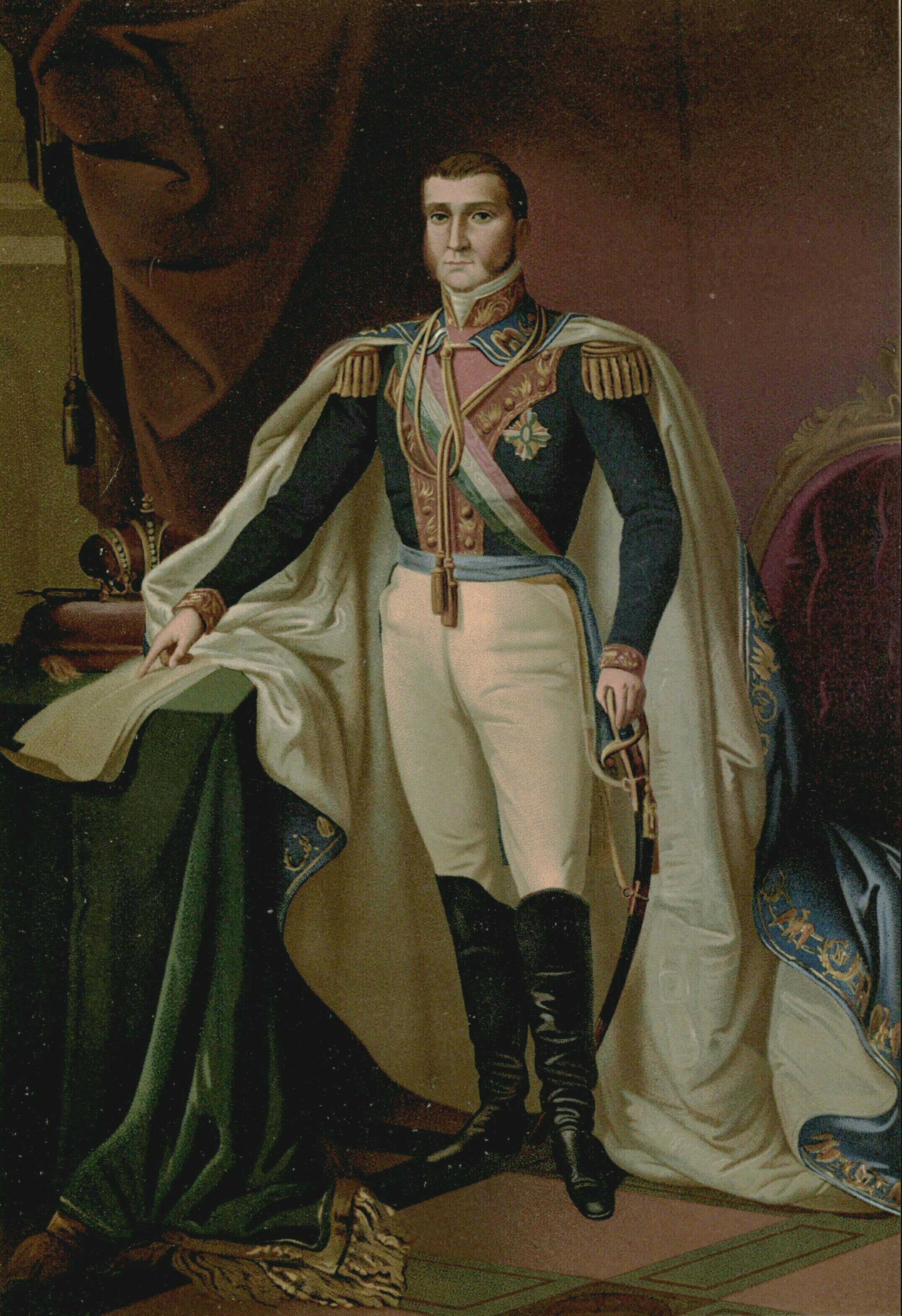 Fichier:Emperor Agustin I kroningsportret.JPG