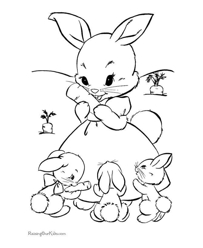 Cute Baby Bunny Drawing at GetDrawings | Free download