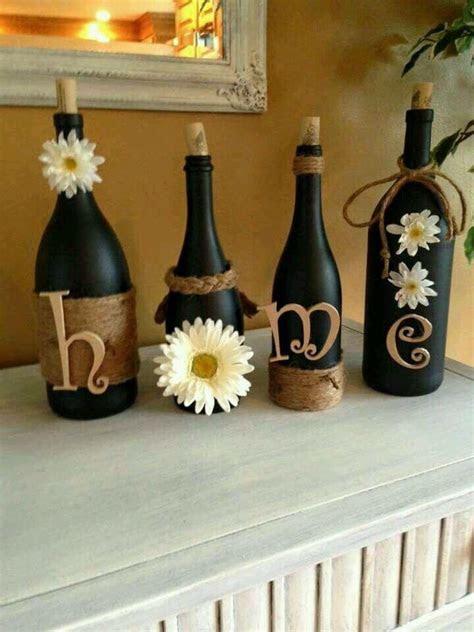 Wine bottle crafts!   bottles   Pinterest   Entryway