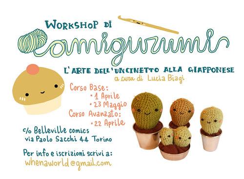 Amigurumi workshop by Whenaworld