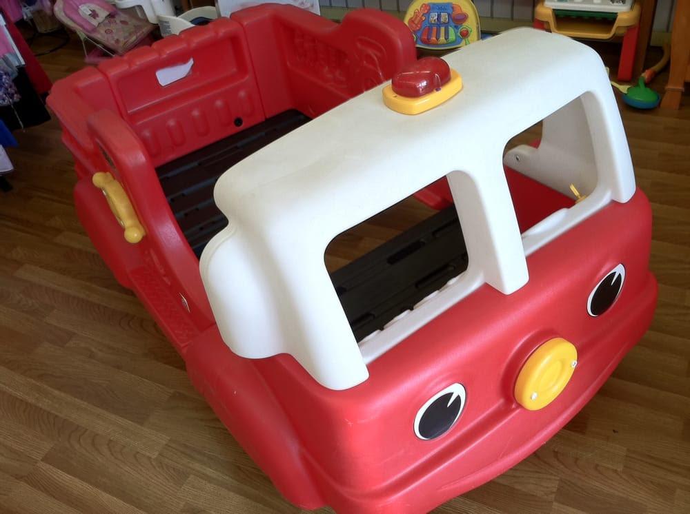 Step 2 fire truck toddler bed Sydney