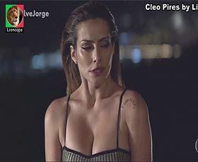 Cleo Pires sensual em vários trabalhos