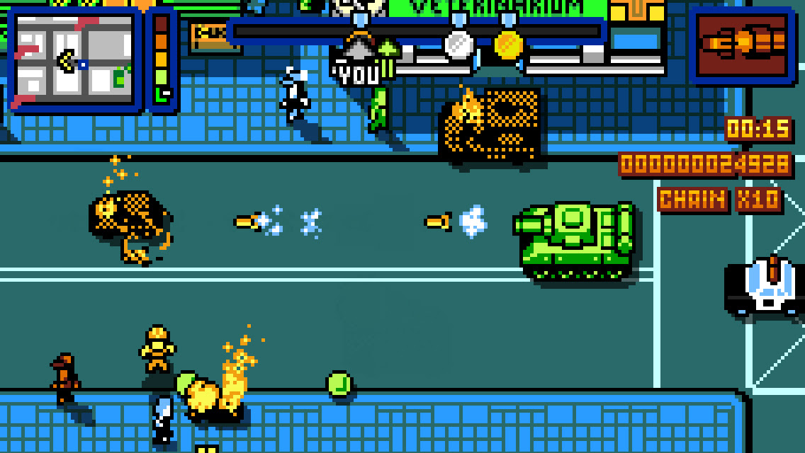 Nintendo Download: Retro City Rampage DX screenshot