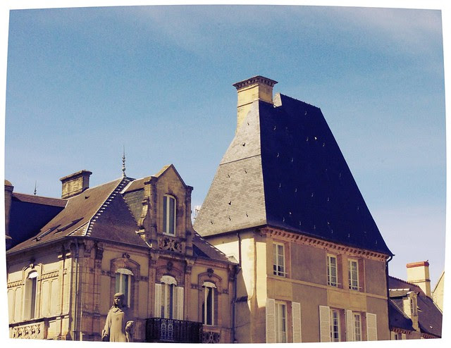 Bayeux Rooftops