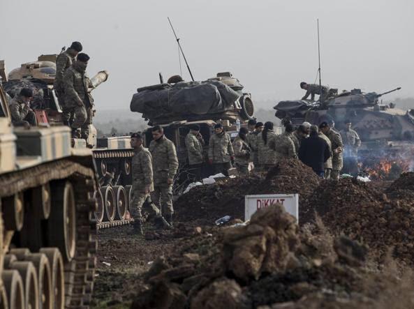 Risultati immagini per Turchi contro Curdi... in Siria