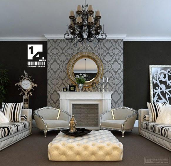 Contoh Design Interior Apartment 2 Kamar