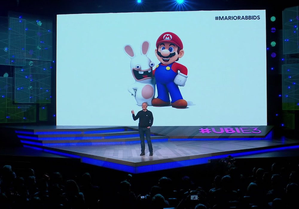 Long rumored Mario + Rabbids Kingdom Battle confirmed at E3 screenshot