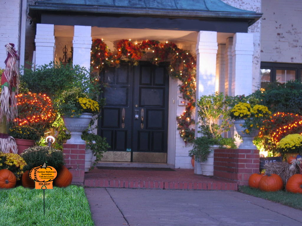 Great Outdoor Halloween Decorations