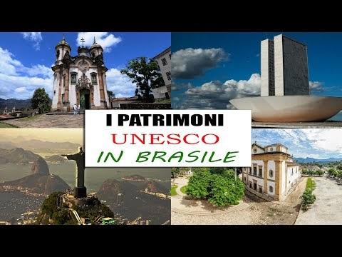 I Patrimoni dell'Umanità UNESCO in Brasile