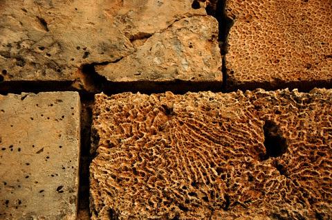 Paoay church  detail