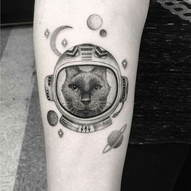 95 Fascinating Space Tattoo Ideas The Mysterious Nature Of The Cosmos