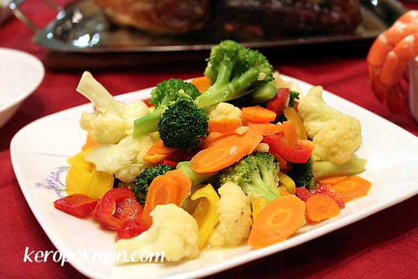 Stir Fried Mixed Colorful Veggies