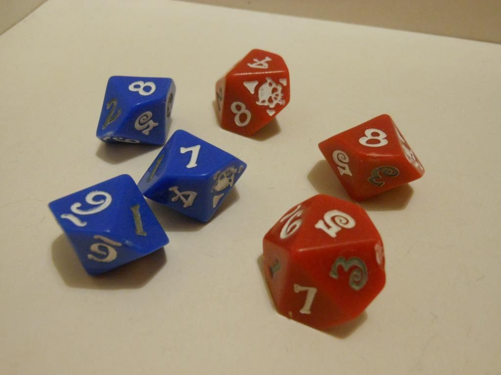 World of Warcraft custom dice