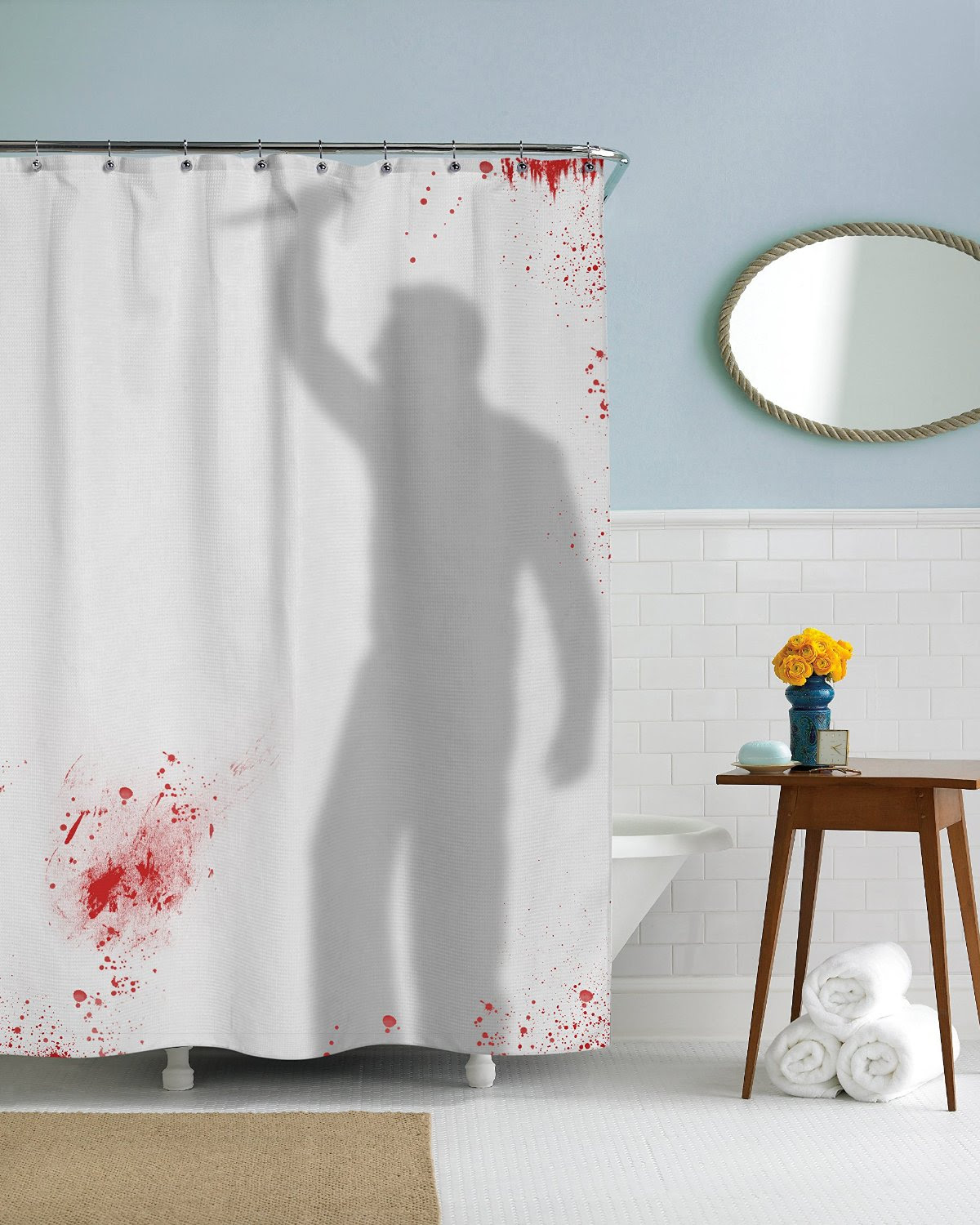 21 Horror Inspired Shower Curtains To Creep Up Your Home Riot Daily