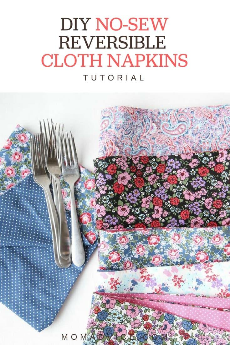 Sewing Pattern Napkins