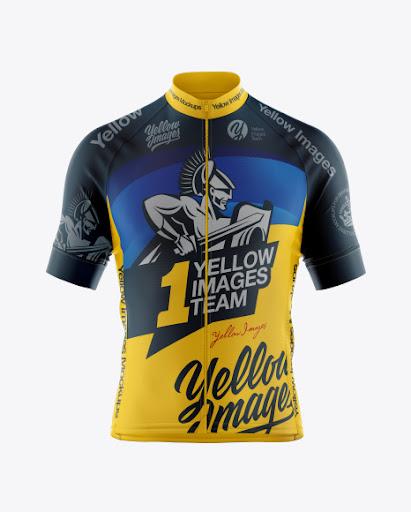Download Free Cycling Jersey Mockup (PSD)