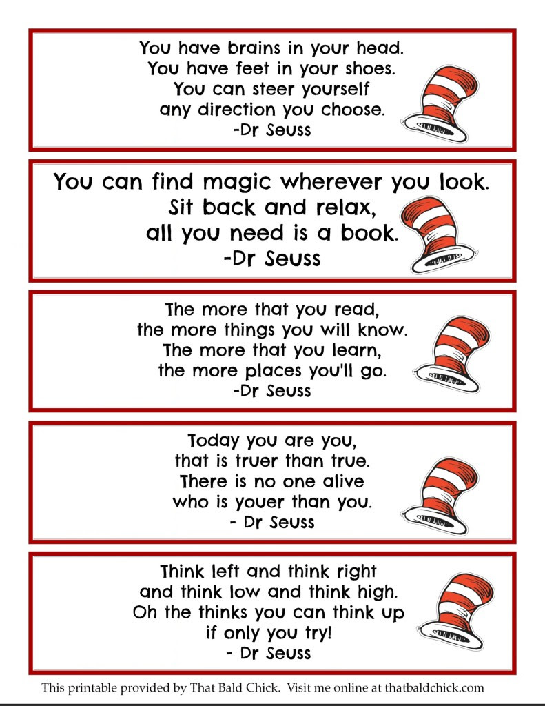 Printable Dr Seuss Quotes. QuotesGram