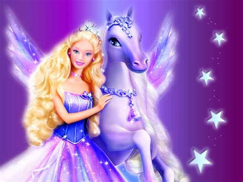 gambar barbie boneka lucu  cantik  anak