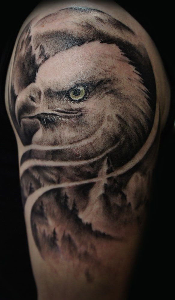 eagle tattoos 24