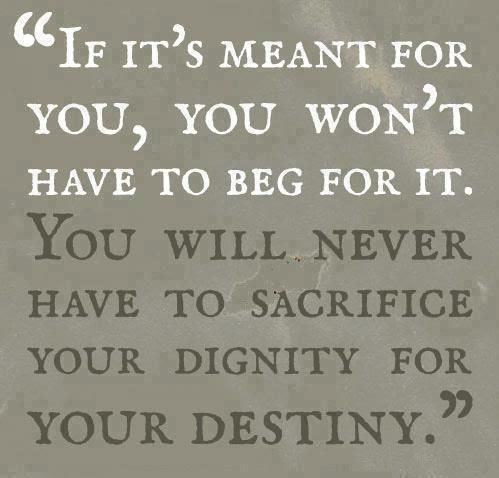 Dignity/Destiny