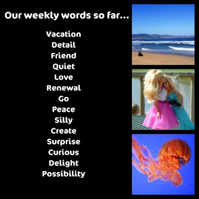Weekly Words So Far