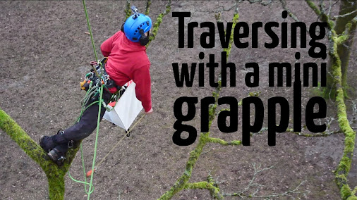 Traversing between trees using mini grapple