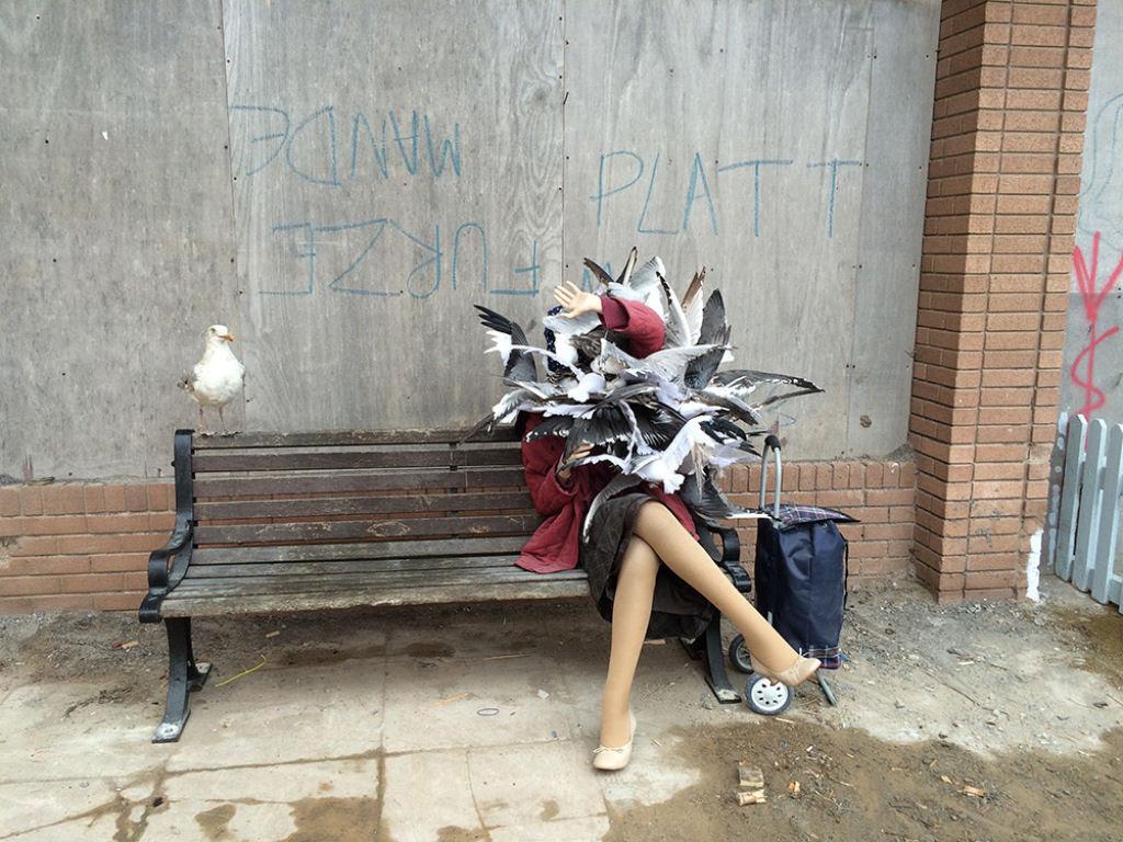 Dismaland, por Banksy: esta é a versão obscura da Disneylândia 07