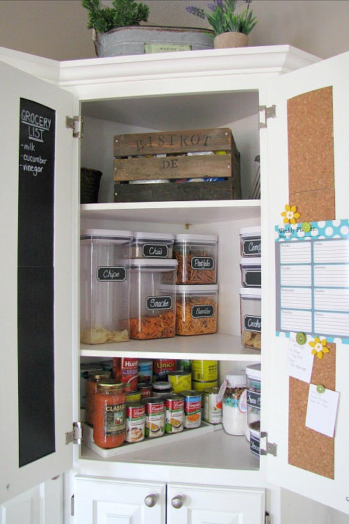 Pantry Organization Tips - Clean and Scentsible