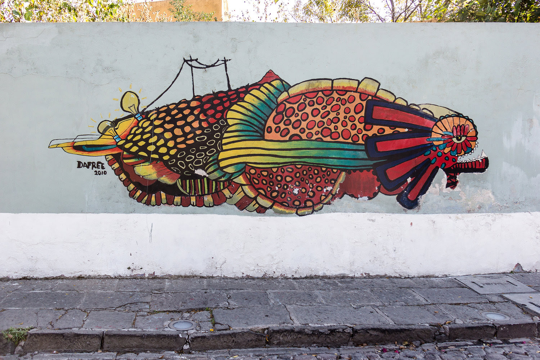 Barrio De Xanenetla The Mural District In Puebla Chante 18