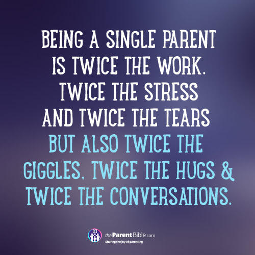 Quotes About Single Parents 63 Quotes