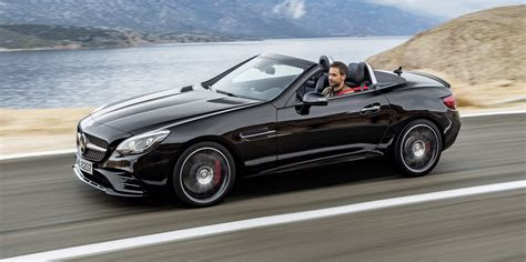 mercedes benz slc revealed mercedes amg slc