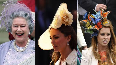 Biggest and Best Royal Wedding Hats of All Time   YouTube