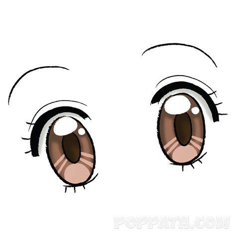draw anime eyes style  pop path