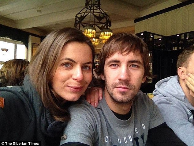 Investigators added that she drove him to the village 'where the man said he asked her to close her eyes, then with a pre-prepared knife inflicted multiple wounds which were fatal.' Pictured: Irena with her ex-husband