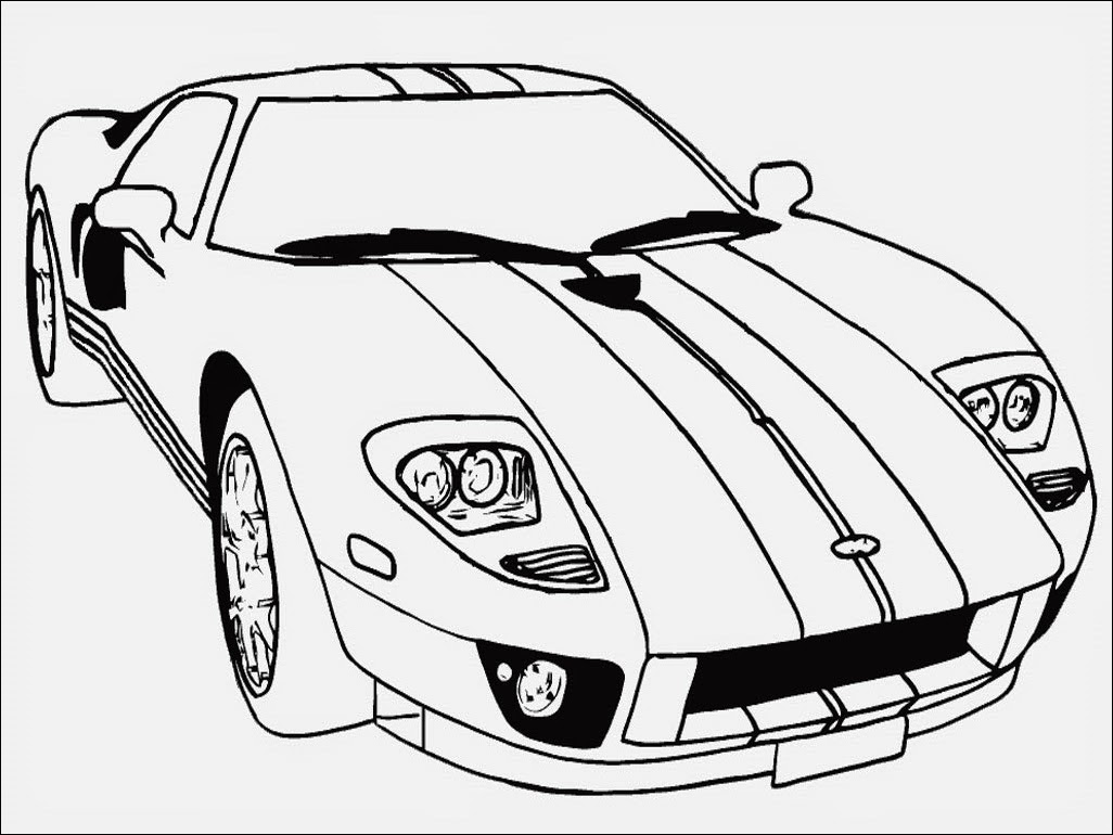 Dibujos Para Colorear De Carros De Rapido Y Furioso 7 Imagenes De