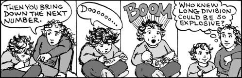 Home Spun comic strip #675