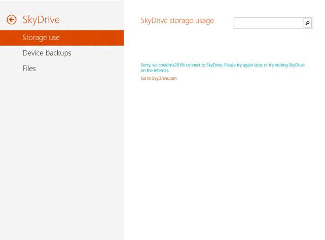 Windows Blue 7 SkyDrive