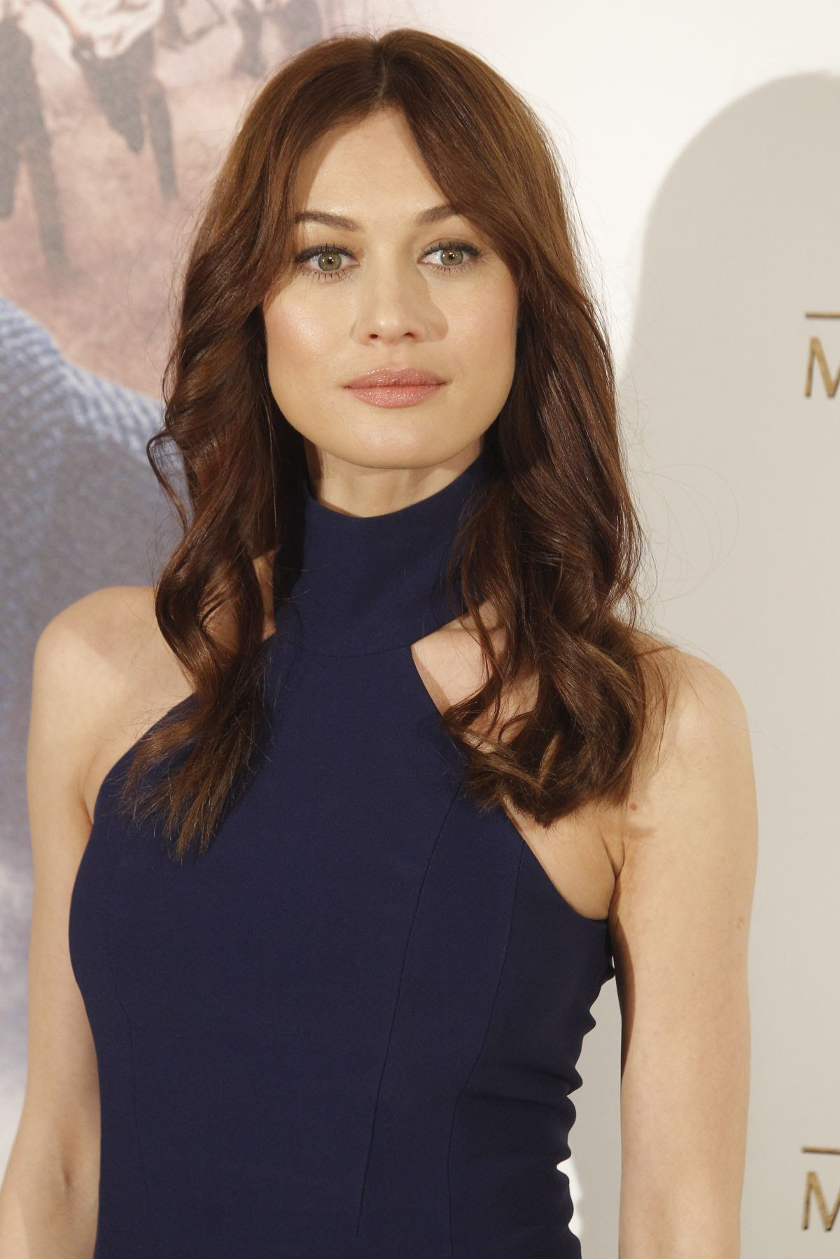 OLGA KURYLENKO at El Maestro Del Agua Photocall in Madrid
