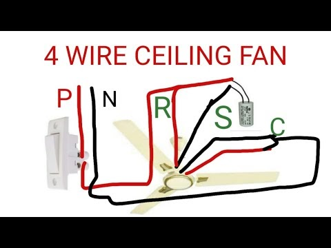 Hunter Ceiling Fan 4 Wire Capacitor