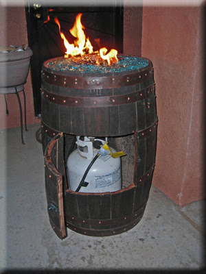 Convert A Wine Barrel Into A Safe Outdoor Firepit