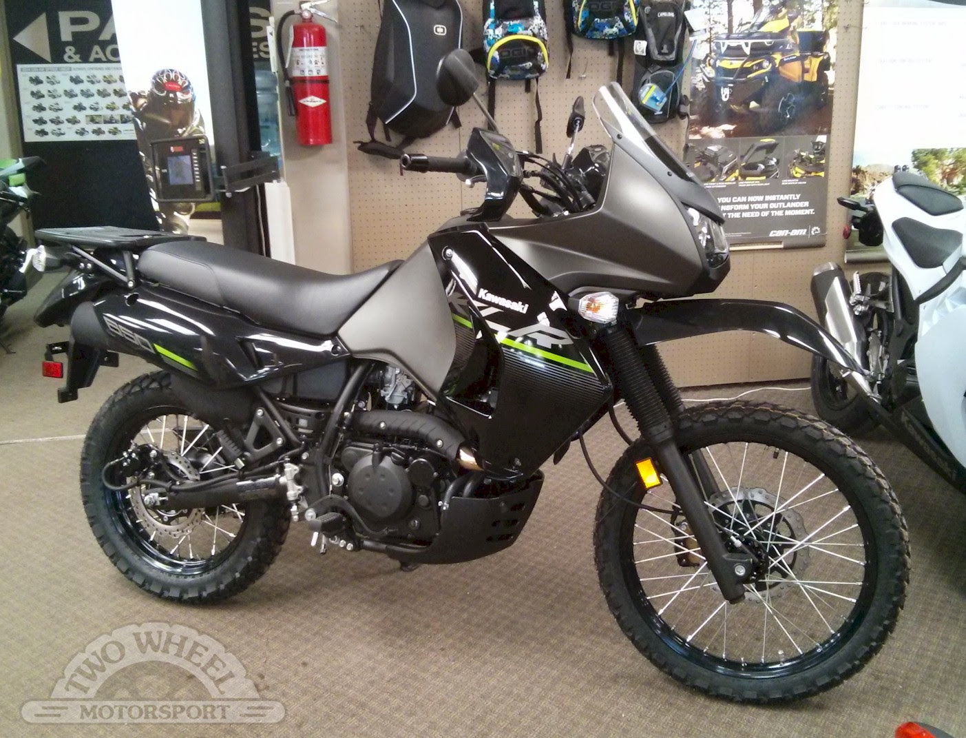 2014 Kawasaki Klr650 New Edition Motozombdrivecom