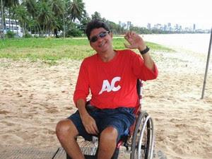 Genilson diz ver o seu sonho realizado (Foto: Babienn Veloso/Arquivo pessoal)