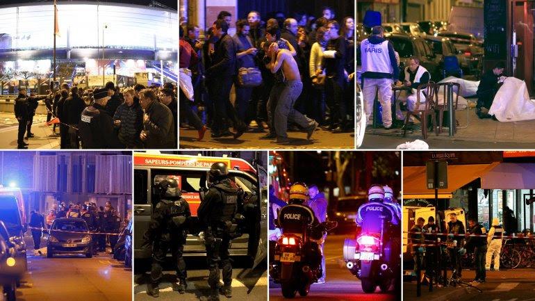 Los múltiples atentados en París dejaron más de un centenar de muertos.