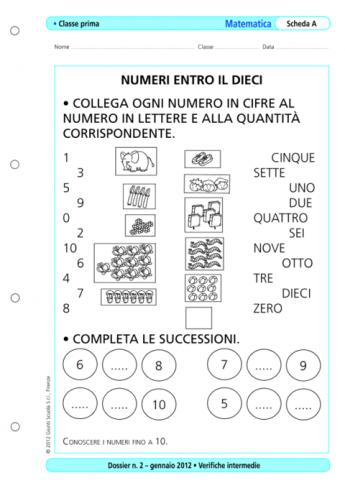 Verifiche intermedie: matematica, classe 1 - La Vita ...