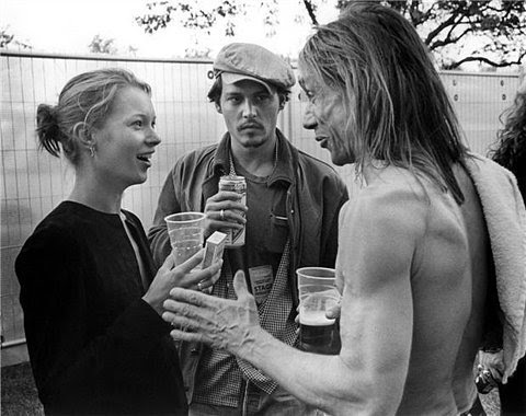 Johnny Depp, Kate Moss, Iggy Pop. Henry Miller and his hot model